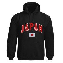 Japan MyCountry Pullover Arch Hoodie (Black)
