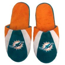 Miami Dolphins Men's Big Logo II Slipper