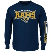 St. Louis Rams NFL Primary Receiver Long Sleeve T-Shirt