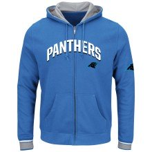 Carolina Panthers Anchor Point Full Zip NFL Hoodie