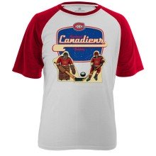 Montreal Canadiens Table Top FX Raglan T-Shirt