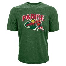 Minnesota Wild Zach Parise NHL Action Pop Applique T-Shirt