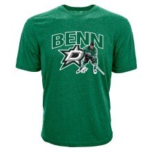 Dallas Stars Jamie Benn NHL Action Pop Applique T-Shirt
