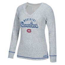 Montreal Canadiens Women's French Terry Comfy Crew
