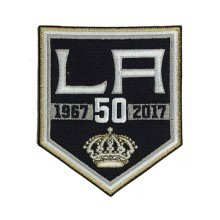 2017 Los Angeles Kings 50th Anniversary Jersey Patch