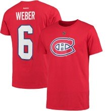 Montreal Canadiens Shea Weber Reebok NHL Player Name & Number T-Shirt