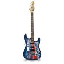 "Buffalo Bills Woodrow NorthEnder NFL Collectible 10"" Mini Guitar"
