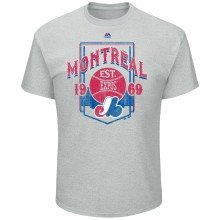 Montreal Expos Cooperstown Vintage Style T-Shirt