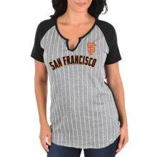 San Francisco Giants Women's From The Stretch Notch Neck T-Shirt