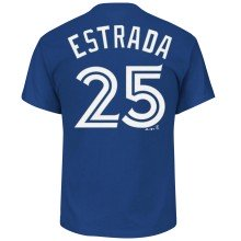 Toronto Blue Jays Marco Estrada MLB Player Name & Number T-Shirt