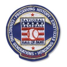 National Baseball Hall Of Fame & Museum Round Patch
