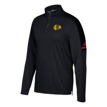 Chicago Blackhawks Adidas NHL Authentic Pro 1/4 Zip Pullover