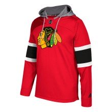 Chicago Blackhawks Adidas NHL Platinum Jersey Hoodie