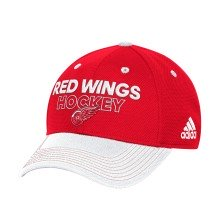 Detroit Red Wings Adidas NHL Authentic Pro Locker Room Flex Cap - Red