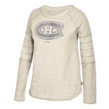 Montreal Canadiens Women's CCM Long Sleeve Raglan Fleece