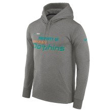 Miami Dolphins Nike NFL Sideline Property Of PO Hoodie