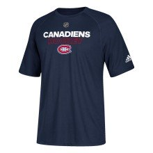 Montreal Canadiens Adidas NHL Authentic Pro Climalite T-Shirt
