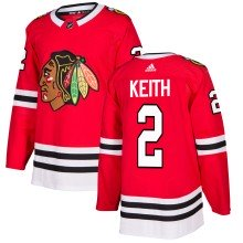 Duncan Keith Chicago Blackhawks adidas NHL Authentic 2018-19 Pro Home Jersey - Pro Stitched