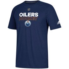 Edmonton Oilers Adidas NHL Authentic Pro Climalite T-Shirt