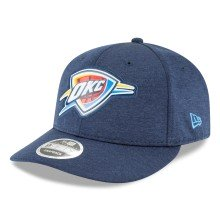 Oklahoma City Thunder NBA Beveled Hit Team Low Profile 9Fifty Snapback Cap | Adjustable