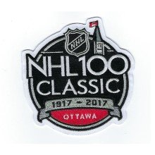 2017 NHL 100th Classic Jersey Patch