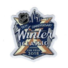 2018 NHL Winter Classic Jersey Patch (10th Anniversary)