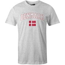 Denmark MyCountry Vintage Jersey T-Shirt (Heather Gray)