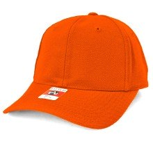 American Needle Fitted Blank Wool Blend Hat - Orange