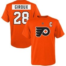 Philadelphia Flyers Claude Giroux NHL YOUTH Player Name & Number T-Shirt