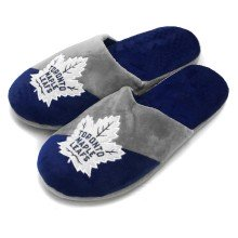 Toronto Maple Leafs NHL YOUTH Big Logo Slippers
