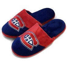 Montreal Canadiens NHL YOUTH Big Logo Slippers