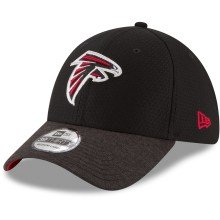 Casquette NFL New Era Popped Shadow 39THIRTY des Falcons d'Atlanta
