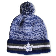 Toronto Maple Leafs NHL Granite Cuff Pom Knit Hat