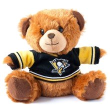 Pittsburgh Penguins NHL 7.5 inch Seated Jersey Sweater Bear