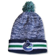 Vancouver Canucks NHL Granite Cuff Pom Knit Hat