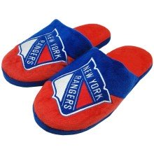 New York Rangers NHL Men's Big Logo Slipper 2.0