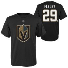 Vegas Golden Knights Marc-Andre Fleury NHL YOUTH Player Name & Number T-Shirt