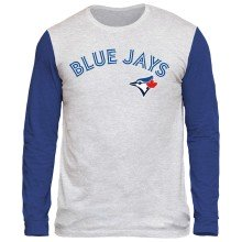 Toronto Blue Jays Shortstop Long Sleeve Tri-Blend T-Shirt