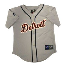 Detroit Tigers Majestic Child Road Replica Baseball Jersey