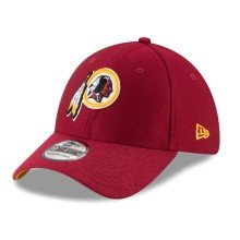 Casquette NFL New Era Popped Shadow 39THIRTY des Redskins de Washington