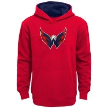 Washington Capitals NHL Youth Prime Pullover Hoodie