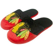 Chicago Blackhawks NHL Men's Big Logo Slipper 2.0