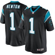 Carolina Panthers Cam Newton NFL Nike Limited Team Jersey