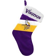 Minnesota Vikings NFL 17 inch Color Block Christmas Stocking