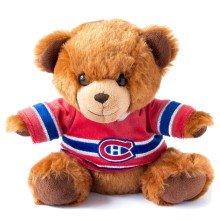 Montreal Canadiens NHL 7.5 inch Seated Jersey Sweater Bear