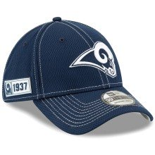 Los Angeles Rams New Era 2019 NFL On Field Road 39THIRTY Cap