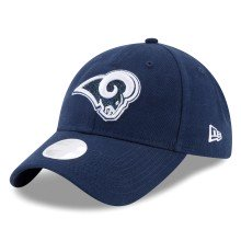 Los Angeles Rams NFL New Era Women's Team Glisten Relaxed Fit 9TWENTY Cap | Adjustable
