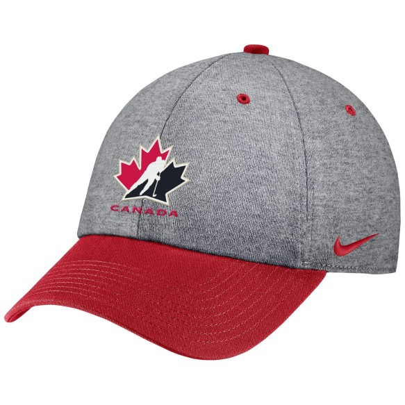 Casquette IIHF Heritage86 heathered l'equipe Canada - Rouge
