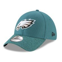 Casquette NFL New Era Popped Shadow 39THIRTY des Eagles de Philadelphia