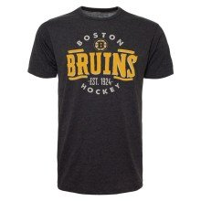 Boston Bruins NHL '47 Station Heathered T-Shirt